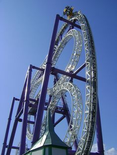 This has to be the coolest ride ever!!!! I wanna go to Sweden just to ride it!! Insane - The roller coaster by Shwetank Dixit, via Flickr