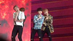 161008 - BTS - FIRE (fancam Suga focus) Korea Music Wave DMC