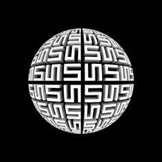 mind bending optical illuisons | rotating puzzle sphere 35 Mind Bending Optical Illusions Pictures