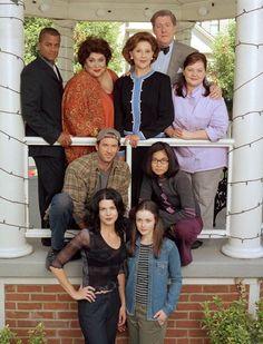 "Gilmore girls season 1 cast. Love them all so much!! Loreali Gilmore - Lauren Graham And Loreali ""Rory"" Gilmore - Alexis Bedel!"