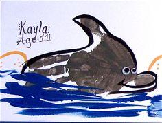 handprint dolphin - Google Search