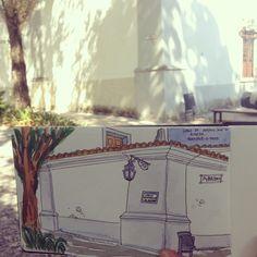 Igreja Urban sketching