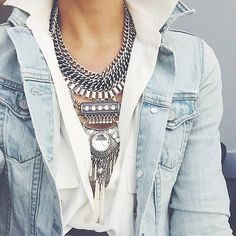 statement necklace #aldo