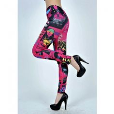 This is Fashion Trend Leggings Colorful Women Slim Stovepipe Pantyhose Tights. retailings.com store provides apple accessories, electronics, tablet PCs, cool gadgets, cell phones, LED flashlight, car accessories, phones accessories, toys, health and beauty supplies, computer accessories, video games accessories, holiday gifts and security camera.