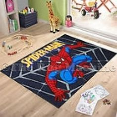 This Superhero, Spiderman Rug Is Available Below.