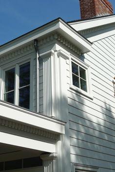 Dentil molding on a gable: plumb or square? - Fine Homebuilding ...