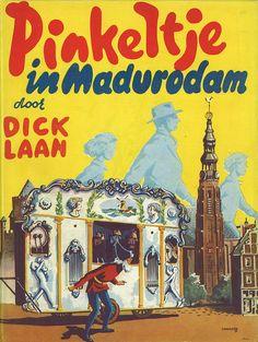 Dick Laan / Pinkeltje in Madurodam ;las toen aardig wat van deze boeken mijn broer ook
