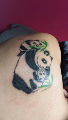 1000 images about tattoos on pinterest sacred heart for Baby panda tattoo