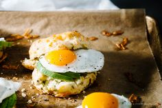 Sunday Brunch: Mini Breakfast Biscuit Sandwich Recipe · i am a food blog i am a food blog