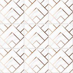 FAUX COPPER and Marble Tile Stickers, tile decals for Kitchen, Bathroom wall or Backsplash, Waterproof and removable - Beadboard Backsplash, Kitchen Backsplash, Backsplash Ideas, Mosaic Tiles Backsplash, Removable Backsplash, Adhesive Backsplash, Herringbone Backsplash, Tiling, Rustic Bathrooms