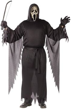 Ghastly Ghoul Scary Ghost Halloween Fancy Dress Costume Childrens Boy 4-6 Years