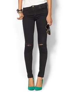 J Brand Mid Rise Super Skinny Denim Jean | Piperlime