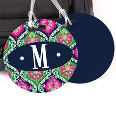 I pinned this Camelia Luggage Tag in Pink and Navy from the Textile Republic event at Joss and Main!
