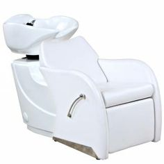 """Chance"" Shampoo Unit in white"