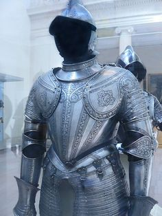 Infantry Armor Etched Steel Italian 1571 CE   Flickr - Photo Sharing!