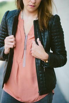 Lou What Wear sporting her Stella & Dot Tessa Fringe Necklace #StellaDotStyle   Stella & Dot. Find it at www.stelladot.com
