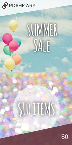Major Price Drops I just dropped prices on almost ALL the items in my closet!! Lots of $10 items up for sale ✨ Bundle for even more savings!! Other