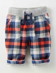 Rib Waist Pants 72171 Pants & Leggings at Boden Toddler Pants, Baby Pants, Baby Boy Dress, Little Boy Blue, Little Boy Fashion, Elastic Waist Pants, Kids Wear, Children Wear, Pull On Pants