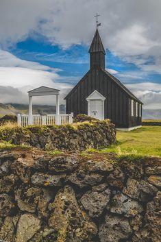 Travel Photography: Búðakirkja, Budir Church, Iceland » Acalbright.com