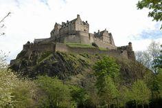 Το κάστρο του Εδιμβούργου, Σκωτία, Ηνωμένο Βασίλειο