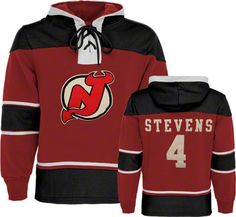 """Stevens Old Time hockey sweatshirt. If we wore this, we would have one thing to say...""""keep your head up"""""""