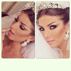 Brides #makeup #wedding