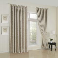 Striped Barroco Grey Blackout Curtains  #curtains #decor #homedecor #homeinterior #grey