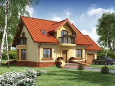 1200 Sq Ft House, My House Plans, Concept Home, Small House Design, Home Design Plans, Facade House, Design Case, Home Fashion, Sweet Home