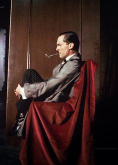 .Jeremy Brett, the quintessential Sherlock Holmes.