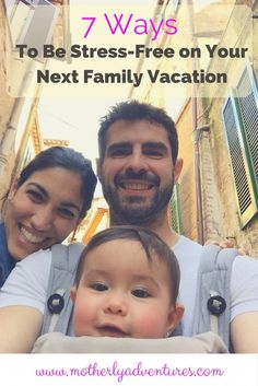 A few tips when planning your next family vacation #familytravel #familyvacation #vacationplanning #stressfree: