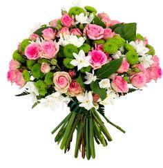 Féminissime !  Tendre et romantique à souhait, toute notre équipe a plébiscité cet élégant bouquet. Oscillant entre grâce ultime et charme naturel, il a tout d'un grand séducteur.