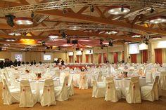 Circus Gala - Salone dinner con palco al centro