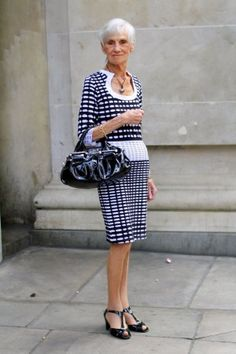 From the great blog, Style Crone. How fabulous is this outfit?