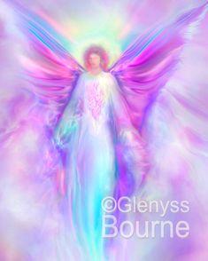 ARCHANGEL Raphael Guardian Angel Large Signed by AmazingAngelArt