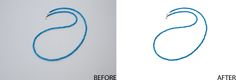 this sample of clipping path service with white bacground