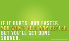 If it hurts