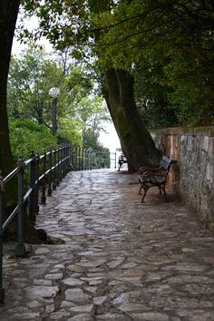 Opatija, Croatia - love this walk that goes all around the town on the water