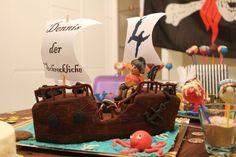 Piratenschiff Geburtstagsparty Pinterest
