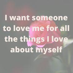 Day 13 #lovemonth Someone to #love me the way I love myself... #couples #romancemetravel