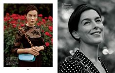"""The Gentlewoman #4 Fall/Winter 11.12 """"Britain's Sophisticated Answer to Hollywood"""" Model/Star: Olivia Williams Photographer: Alasdair McLellan Stylist: Jonathan Kaye Hair: Luke Hersheson Makeup: Lauren Parsons Manicure: Mike Pocock"""