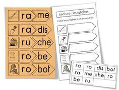 CP : Ateliers et exercice «Associer des syllabes» | Bout de Gomme