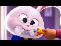 Watch the official trailer compilation for The Secret Life of Pets an animation movie starring Jenny Slate, Kevin Hart and Harrison Ford. Cute Disney Wallpaper, Cute Cartoon Wallpapers, Snowball Rabbit, Pet Max, Cute Bunny Cartoon, Pets Movie, 2 Movie, Secret Life Of Pets, Pet Rabbit