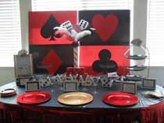 Vegas High Rollers Casino Girls Night In - Bunco Party Ideas | Photo 11 of 26 | Catch My Party