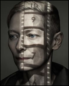 Dan Winters // projection on Tilda Swinton Projector Photography, Shadow Photography, Creative Photography, Art Photography, Levitation Photography, Exposure Photography, London Photography, Backlight Photography, Photography Composition