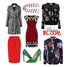 Coat, skirt, dress, cardi, pumps! | style prints | Dr. Alana Bloom from Hannibal on NBC