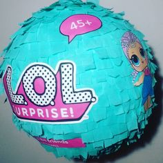round pintata with print outs 10th Birthday Parties, Birthday Party Decorations, 4th Birthday, Surprise Birthday, Birthday Ideas, Doll Party, Bday Girl, Lol Dolls, Pinata Ideas