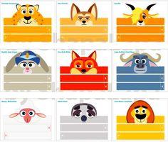 Invitaciones de cumpleaños de Zootopia para imprimir - http://xn--manualidadesparacumpleaos-voc.com/invitaciones-de-cumpleanos-de-zootopia-para-imprimir/