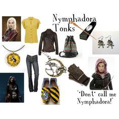 """Nymphadora Tonks"" by rachel363 on Polyvore - Hufflepuff  http://rachel363.polyvore.com/nymphadora_tonks/set?.svc=copypaste&embedder=0&id=48019304"