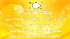 Wearing Yellow by La Hermosa Bruja