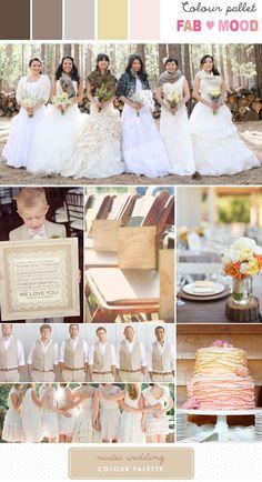 Rustic Wedding Inspiration Board | http://www.fabmood.com/rustic-wedding-inspiration-board/